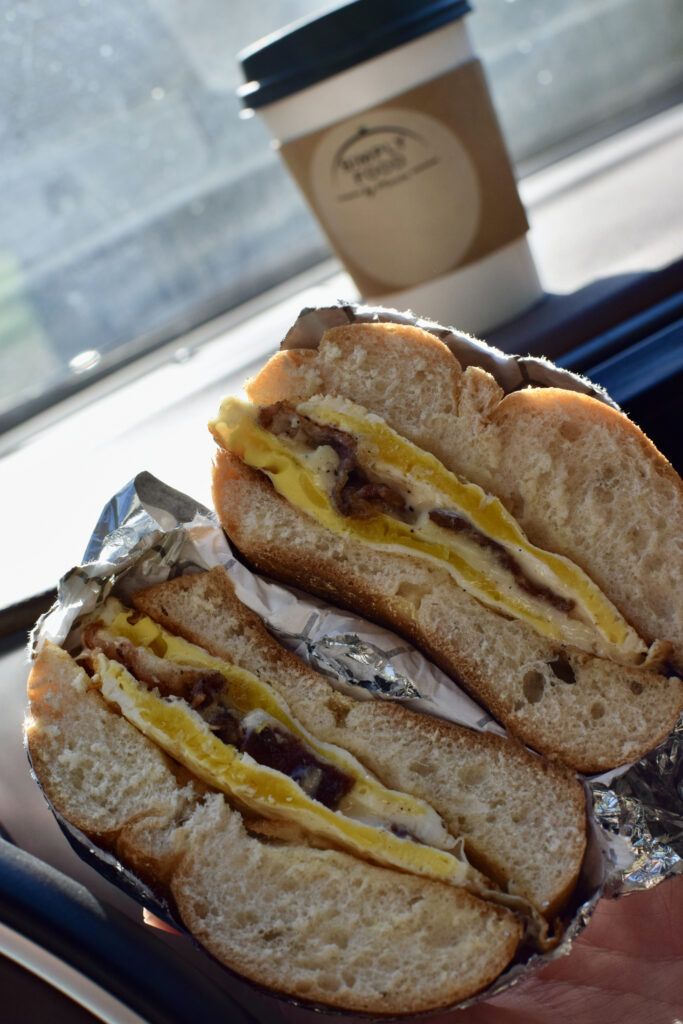 Simply Food by Maura's Points Classic with Starting Gate Coffee!